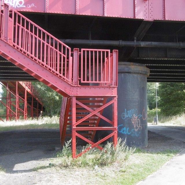 Stairs, Newport Bridge