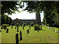 TL9971 : St Mary's Church, Walsham Le Willows by Adrian Cable