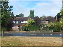 TQ1665 : Hinchley Wood - Houses on Manor Road North by James Emmans
