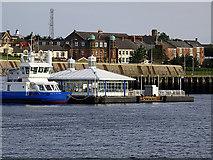 NZ3567 : South Shields Ferry Terminal by John Lucas