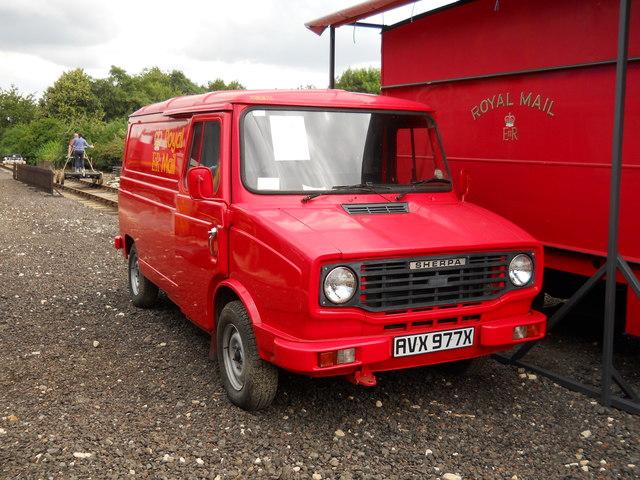 0b6173ca72290c Former Leyland Sherpa Royal Mail van at... © Paul Bryan cc-by-sa 2.0 ...