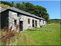 SH7357 : Bryn Bethynau Barn by Richard Law