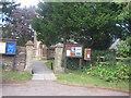 ST2231 : Church gate by Anthony Vosper