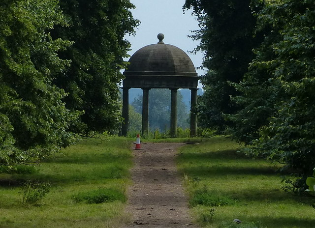 The Temple at Dog Kennels Farm, Tixall