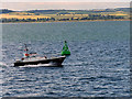 NO5129 : Dundee Pilot Boat passing the North Lady Marker Buoy by David Dixon