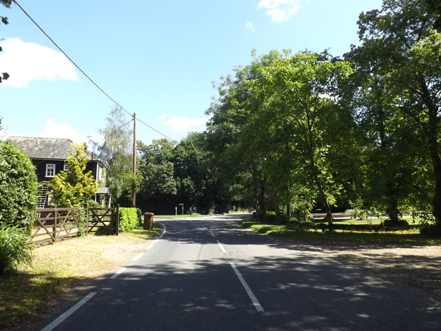 Badwell Road, Four Ashes