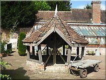 TR0653 : Chilham Castle gardens by pam fray