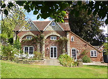 TR0653 : The rear of Elephant House, Chilham by pam fray