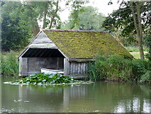 TR0653 : The boat house at Chilham Castle by pam fray