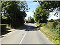 TM0071 : Finningham Road, Walsham Le Willows by Adrian Cable
