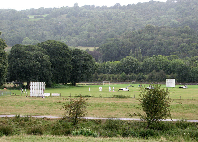 Rain stopped play at Cromford CC