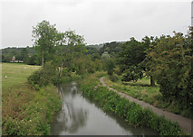 SK3056 : On the Cromford Canal by John Sutton