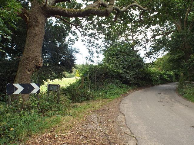Tatsfield Lane, near Biggin Hill