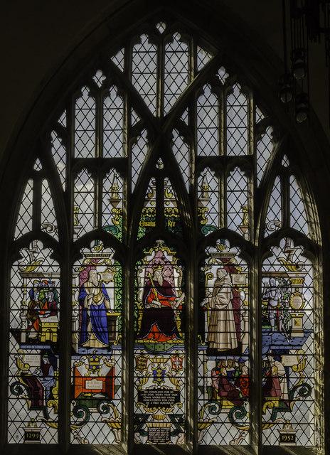 Gelder window, Holy Trinity church, Hull