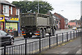 TA1230 : Broken down army lorry by Ian S