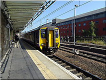 NZ2463 : A Northern Rail Class 156 train at Newcastle Central Station by John Lucas