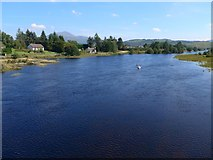 NM6768 : Spate on the River Shiel by Gordon Brown