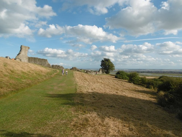 Approaching Hadleigh Castle