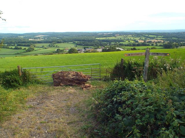 View near Tatsfield