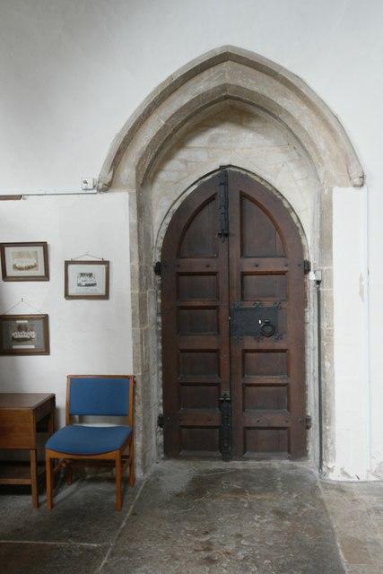 St Andrew's Church: North door