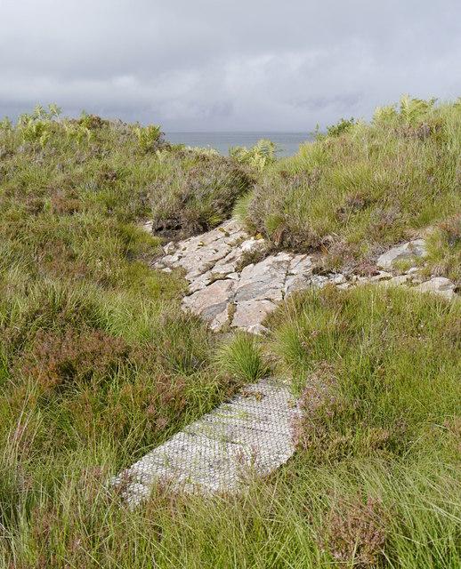Path from Port nan Carannan
