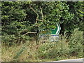 TM0174 : Roadsigns on the A143 Diss Road by Geographer