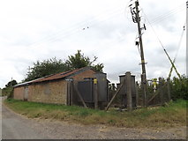 TM0174 : Electricity Sub-Station off Manning's Lane by Adrian Cable