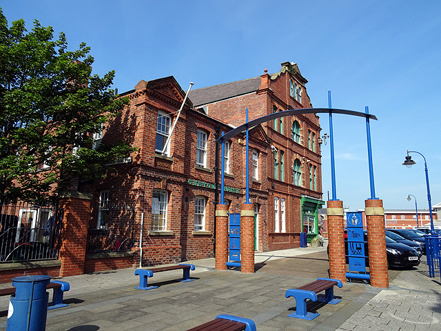 The old Customs House, Quayside, Blyth