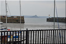SW4730 : The mouth of Penzance Harbour by N Chadwick