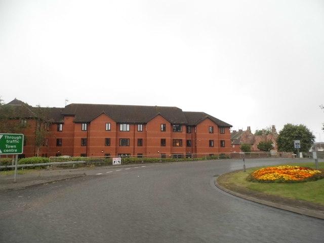 Flats on County Way, Trowbridge