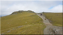 NN6240 : Approaching the summit of Beinn Ghlas by Doug Lee