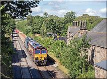 NY6565 : Trains at Greenhead - August 2016 (2) by The Carlisle Kid