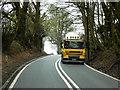 SO0453 : DAF CF Tanker on the A483 near to Llanelwedd by David Dixon