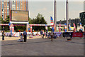 SJ8097 : 2016 Olympics Fanzone at MediaCityUK by David Dixon