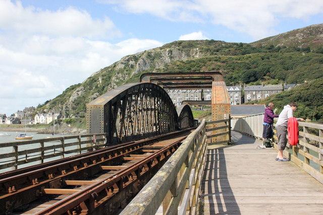 The Cambrian Coast Railway and Barmouth Bridge