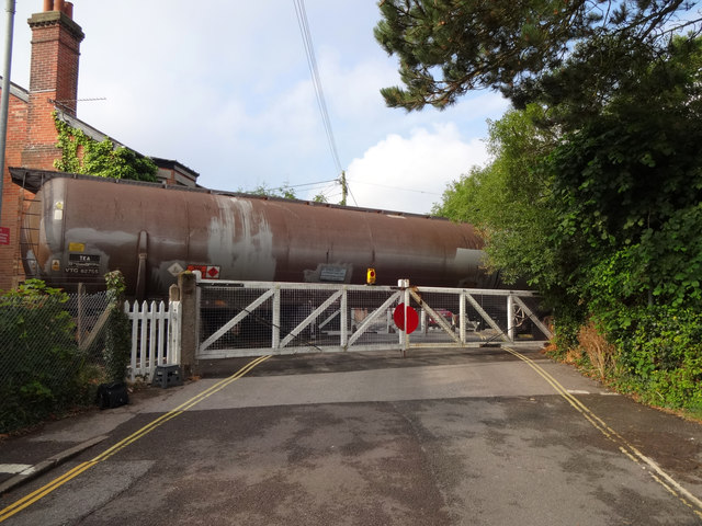 Oil tanks for Fawley