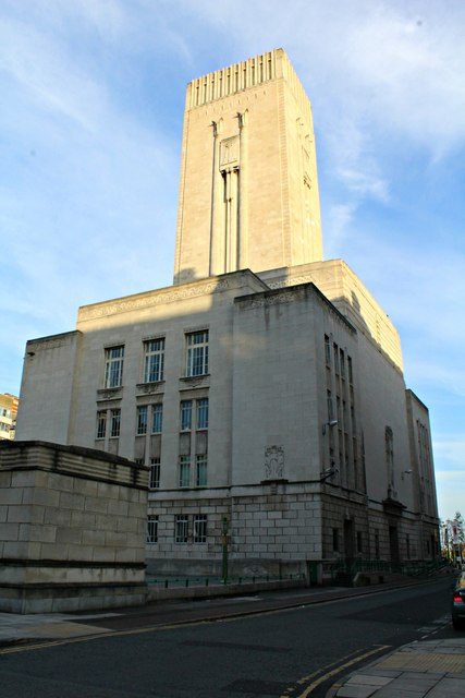 Queensway Tunnel Ventilation Shaft and Control Station, Liverpool (2)