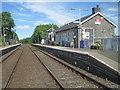 NX2281 : Barrhill railway station, Ayrshire by Nigel Thompson