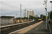NS5566 : Partick Railway Station by Richard Sutcliffe