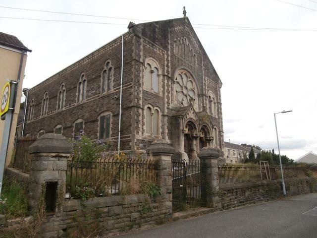 Welsh Baptist chapel, Dinas Rd, Treboeth