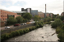 NS5666 : The River Kelvin by Richard Sutcliffe