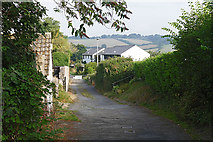 SX7087 : Valley View, Chagford by Alan Hunt