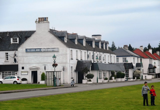 The Kings Arms Hotel and Restaurant, Isle of Skye
