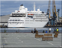 J3576 : The 'Silver Wind' at Belfast by Rossographer
