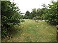 TL9673 : St.John's Church Cemetery, Stanton by Geographer