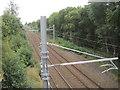 NS6568 : Stepps Road railway station (site), North Lanarkshire by Nigel Thompson