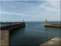 NZ8911 : Whitby Harbour by David Brown