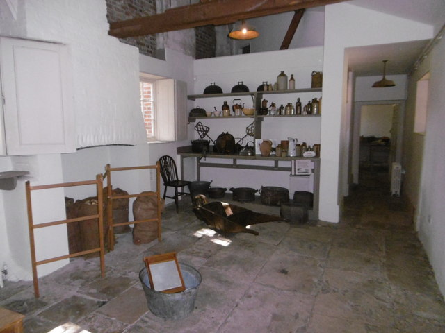 The scullery in Valentines Mansion