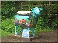 NY2328 : Go Herdwick sheep, Old Sawmill Tearoom, Mirehouse by Graham Robson