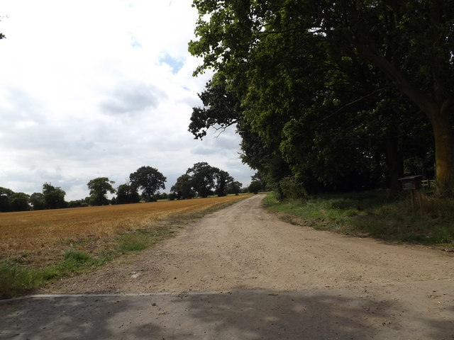 Commercial Entrance to Haugh Farm